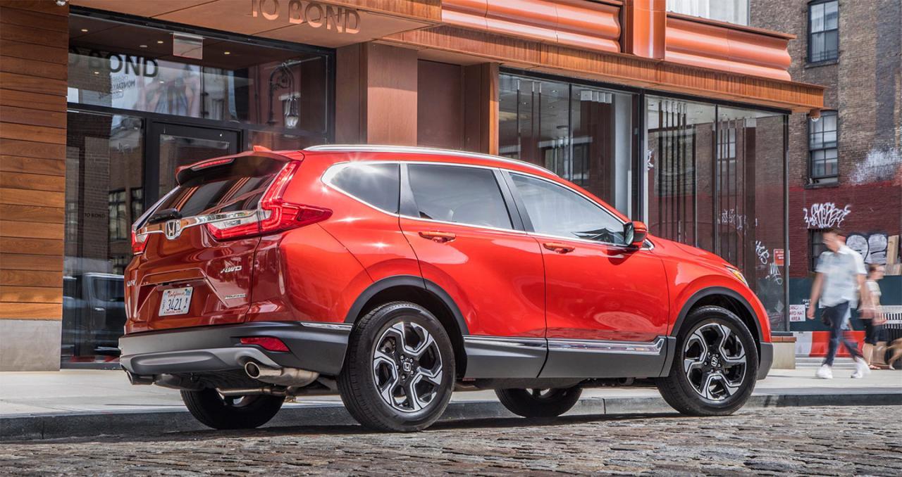 """""""SUV của năm 2018"""" – Honda CR-V và chiến thắng thầm lặng"""
